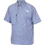 Drake Waterfowl Men's University of Kentucky Gameday Wingshooter's Short Sleeve Button-Down - view number 1