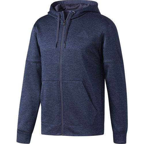 adidas Men's Team Issue Fleece Full-Zip Hoodie