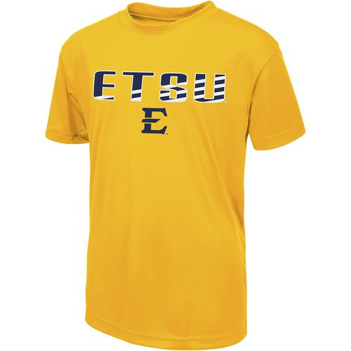 Colosseum Athletics Boys' East Tennessee State University Team Stripe T-shirt