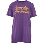 Three Squared Juniors' East Carolina University Saturday T-shirt - view number 1