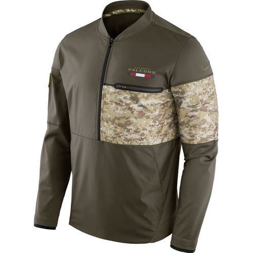 Nike Men's Atlanta Falcons Salute To Service Hybrid Jacket