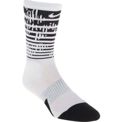 Nike Men's Elite 1.5 Graphic Crew Basketball Socks