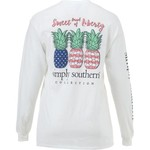 Simply Southern Women's Long Sleeve Pineapple T-shirt - view number 1
