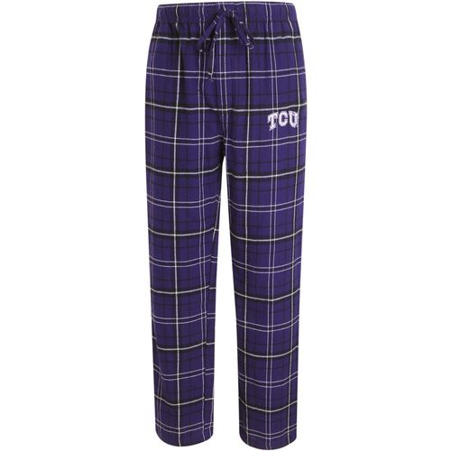 Concepts Sport Men's Texas Christian University Ultimate Flannel Pant