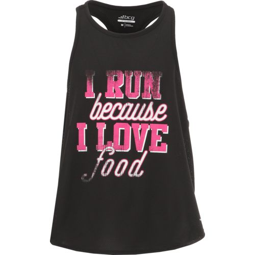 BCG Women's Cropped Running Tank Top
