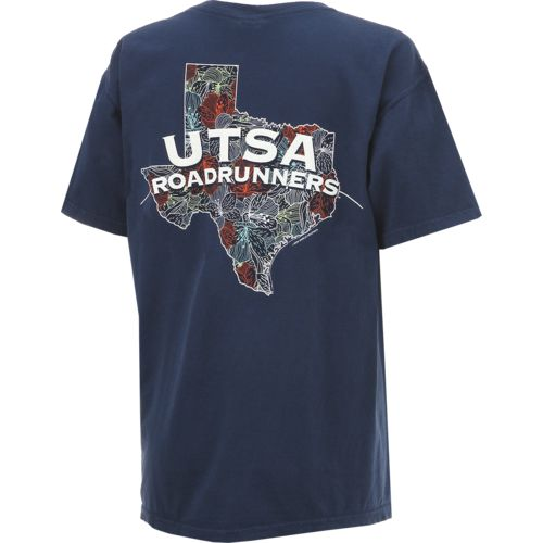 New World Graphics Women's University of Texas at San Antonio Comfort Color Puff Arch T-shirt - view number 2