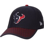 New Era Men's Houston Texans Onfield Sideline Team 2-Tone 39THIRTY Cap - view number 2