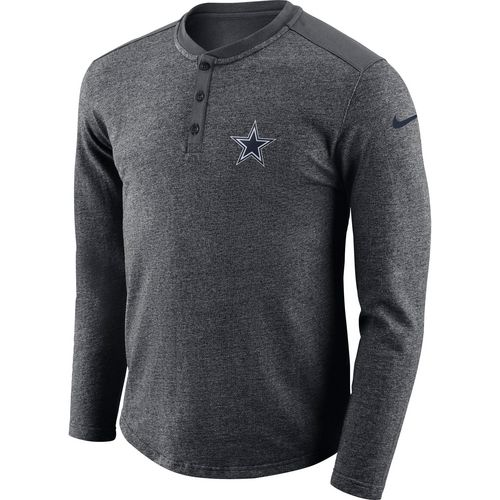 Nike Men's Dallas Cowboys Long Sleeve Henley