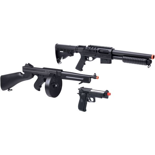 Display product reviews for GameFace Triple Threat 6mm Airsoft Kit