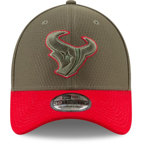 New Era Men's Houston Texans Salute to Service '17 39THIRTY Cap