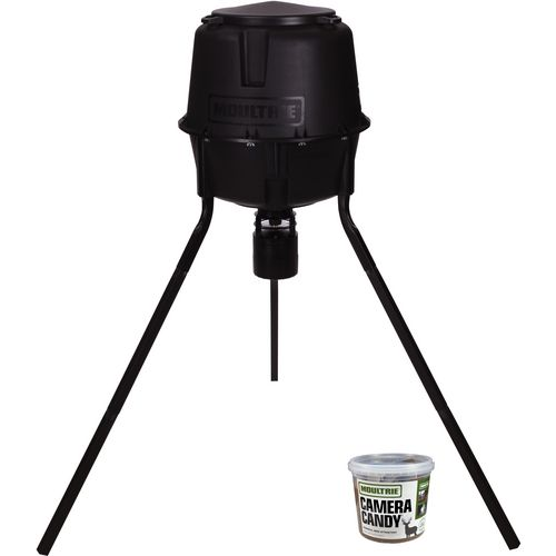 Moultrie Deer Feeder Pro 30 gal Tripod Feeder and Camera Candy Set