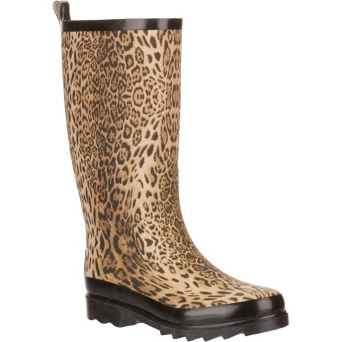 Austin Trading Co. Women's Leopard Rubber Boots - view number 2