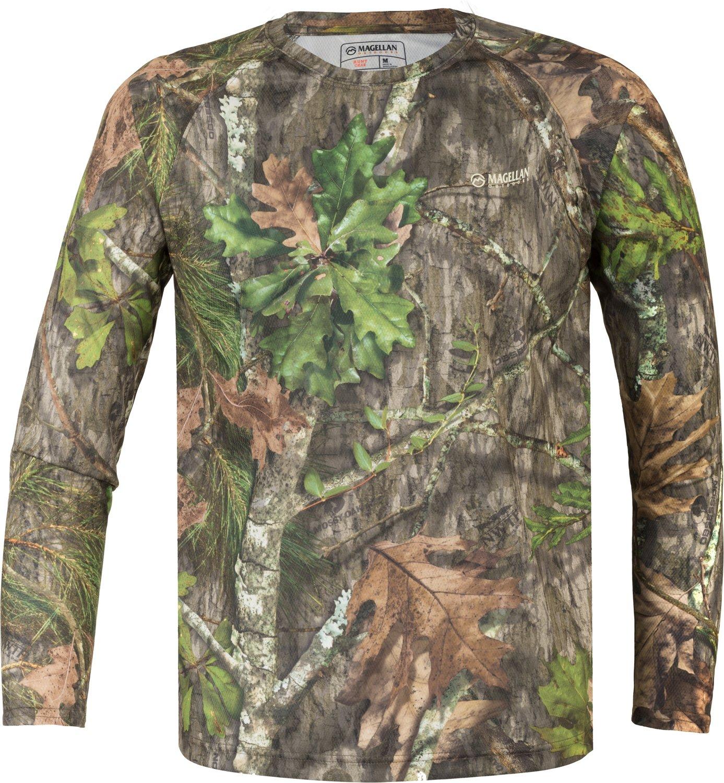 Display product reviews for Magellan Outdoors Men's Eagle Pass Long Sleeve Mesh Shirt