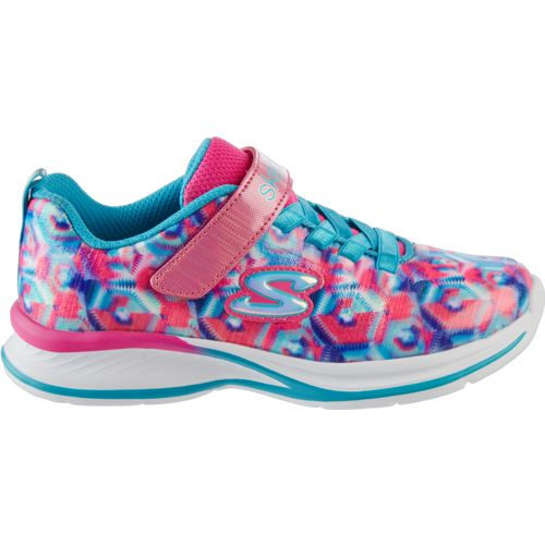 SKECHERS Girls' Jumpin' Jams Training Shoes - view number 3