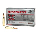 Winchester Super-X Power-Point .243 Winchester 100-Grain Rifle Ammunition - view number 1