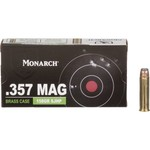 Monarch™ SJHP .357 Magnum 158-Grain Pistol Ammunition