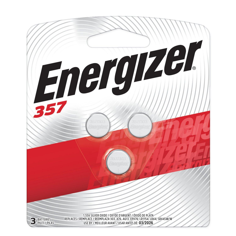 Energizer® 1.5V Silver Oxide Batteries 3-Pack
