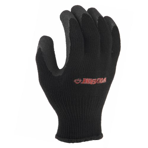 Wolverine Men's Latex  Palm Work Gloves