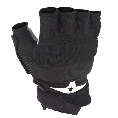 All-Star® Youth Lineman Half-Finger Football Gloves