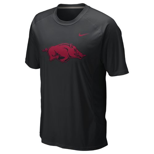 Nike Men's University of Arkansas Football Speed Fly Top