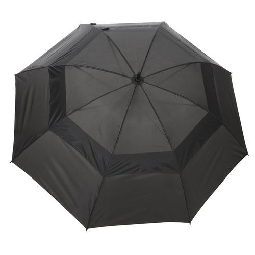 "Wilson Ultra™ 68"" Black Dual-Canopy Umbrella"