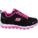 SKECHERS Girls' Skech Air Bizzy Bounce Athletic Lifestyle Shoes