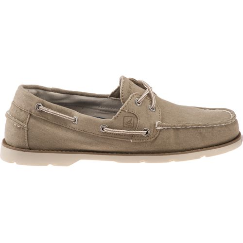 sperry s leeward 2 eye canvas boat shoes academy