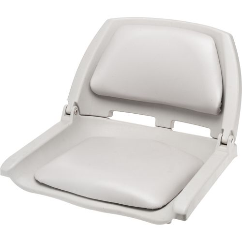 Boat seats fold down lounge helm molded