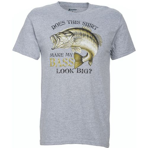 Image for Academy Sports + Outdoors™ Men's Make My Bass Look Big T-shirt from Academy