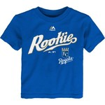 Majestic Toddlers' Kansas City Royals Rookie Script Short Sleeve T-shirt