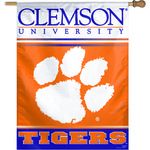 WinCraft Clemson University Vertical Flag
