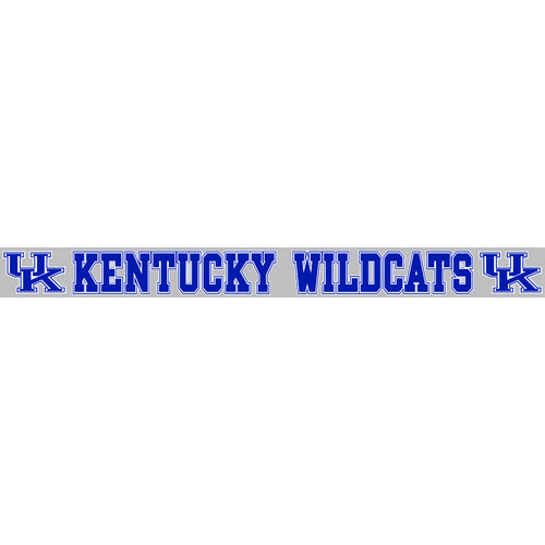 "Stockdale University of Kentucky 2"" x 19"" Vinyl Die-Cut Decal"