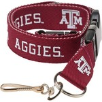 NCAA Adults' Texas A&M University 2-Tone Lanyard - view number 1