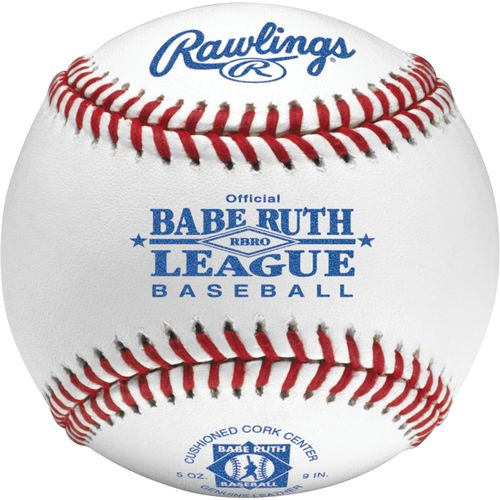 Rawlings Official Babe Ruth Competition-Grade Junior League Game Baseballs 2-Pack