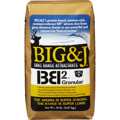 Big & J BB2 20 lb. Granular Deer Attractant