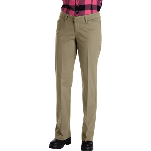Display product reviews for Dickies Women's Relaxed Fit Straight Leg Stretch Twill Pant