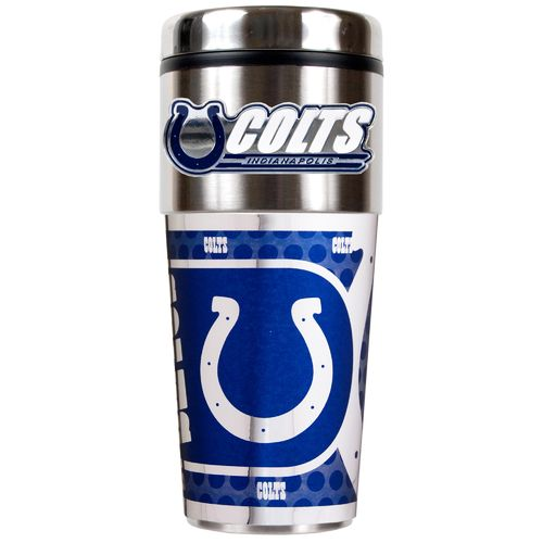 Great American Products Indianapolis Colts 16 oz. Travel Tumbler