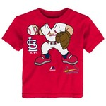 Majestic Toddlers' St. Louis Cardinals Pint Size Pitcher T-shirt