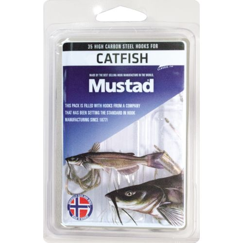 Mustad Assorted Catfish Hooks 35-Pack