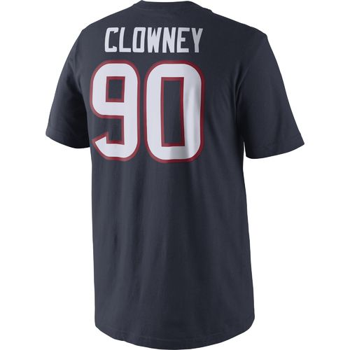 Nike Men's Houston Texans Jadeveon Clowney 90 Player Pride T-shirt - view number 2
