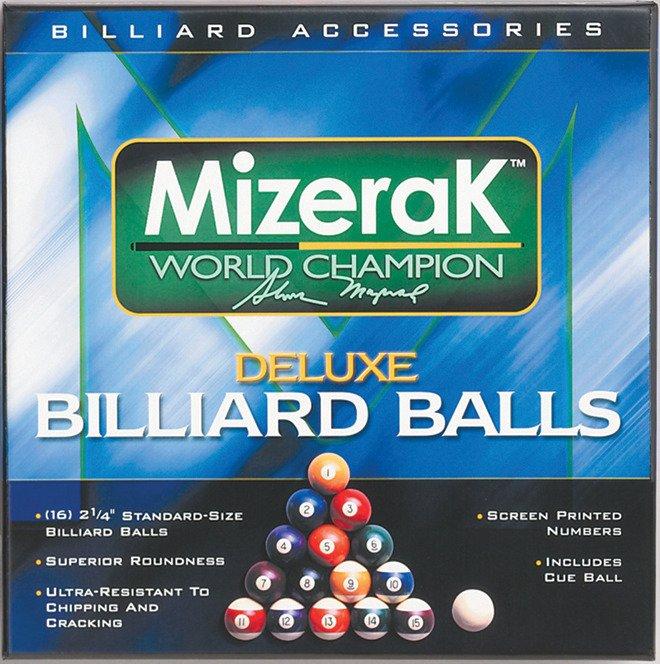 Mizerak™ Deluxe Billiard Ball Set