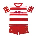 Two Feet Ahead Toddlers' University of Mississippi Rugby Short Set