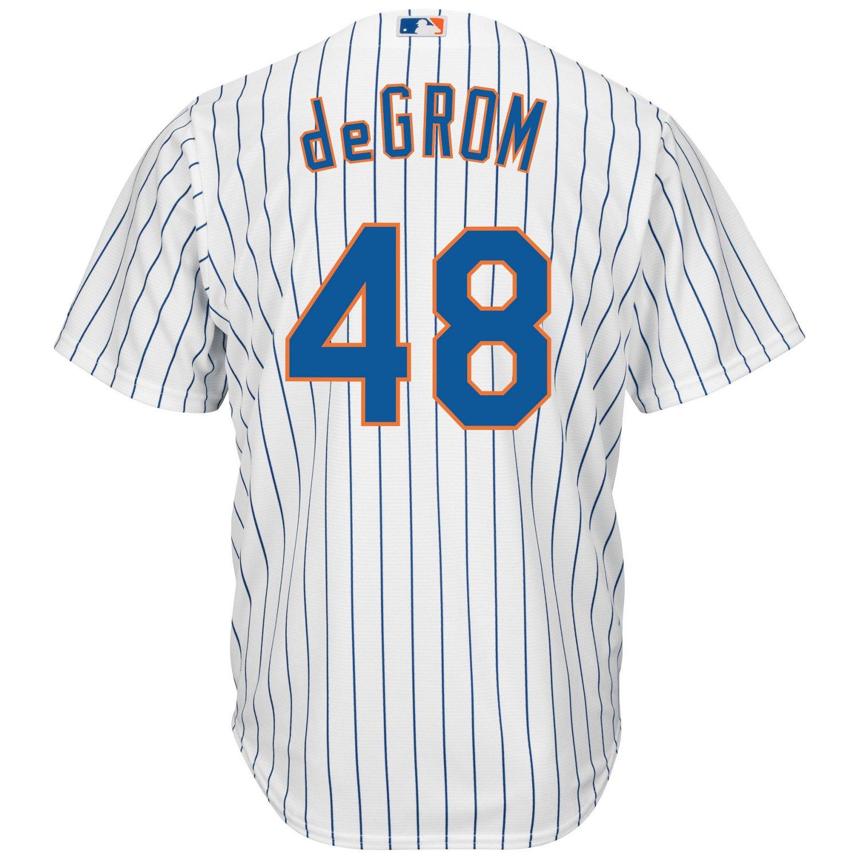 Majestic Men's New York Mets Jacob deGrom #48