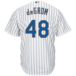 Majestic Men's New York Mets Jacob deGrom #48 Cool Base® Home Jersey
