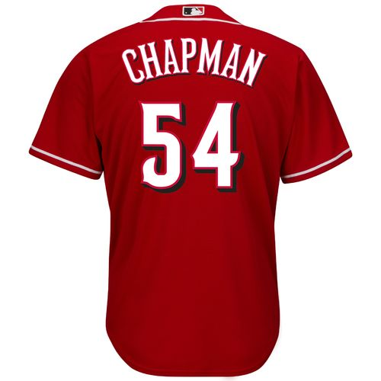 Majestic Men's Cincinnati Reds Aroldis Chapman #54 Cool