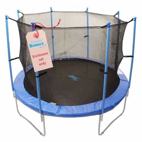 Upper Bounce® 13' Enclosure Set for Trampolines with 4 or 8 W-Shaped Legs