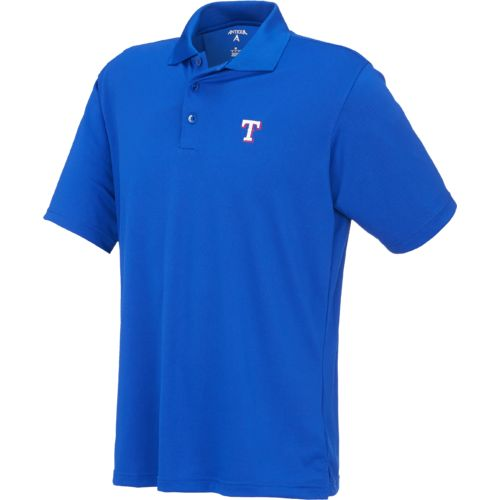 Display product reviews for Antigua Men's Texas Rangers Piqué Xtra-Lite Polo Shirt