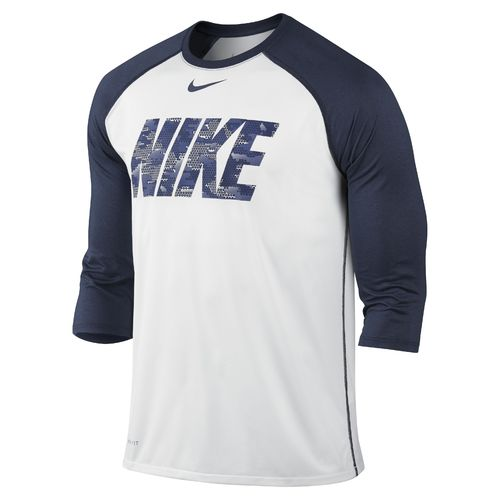 Nike Men's BSBL Raglan Legend Futura T-shirt