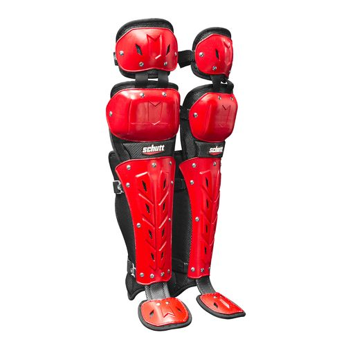 Schutt Adults' AiR Maxx Scorpion 14' Double-Flex Leg Guards