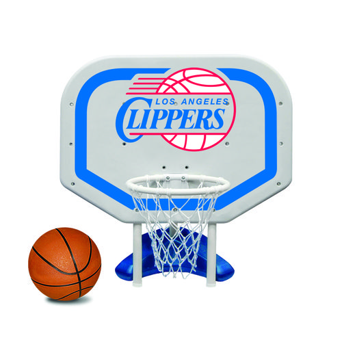 Poolmaster® Los Angeles Clippers Pro Rebounder Style Poolside Basketball Game
